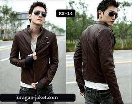 jaket kulit korean style