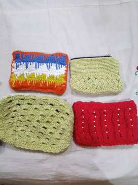 Hand made purse clutch and mobile covers
