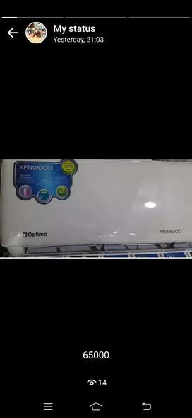 Kenwood AC and inverter urgent sale 10 by 10