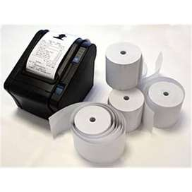 Thermal Printer paper Rolls Paper quality and length guaranteed.