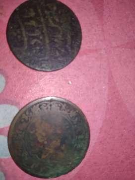 Old original coins