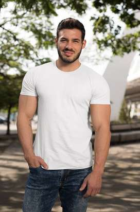 Buy any Plain Cotton T-shirt just for Rs 300/-