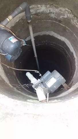 service pompa air/ tukang sumur bor/ kuras toren