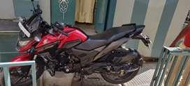 2018/  10 month ki bike he Honda x bled