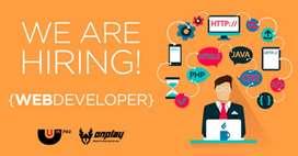 WebDeveloper PHP MyAdmin Cpanel SQL Database Job Vacancy