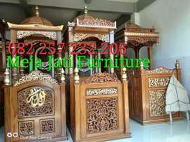 Mimbar masjid R69 natural sanddet