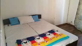 5000 per bed Pg for male female & couple no restriction all facilities