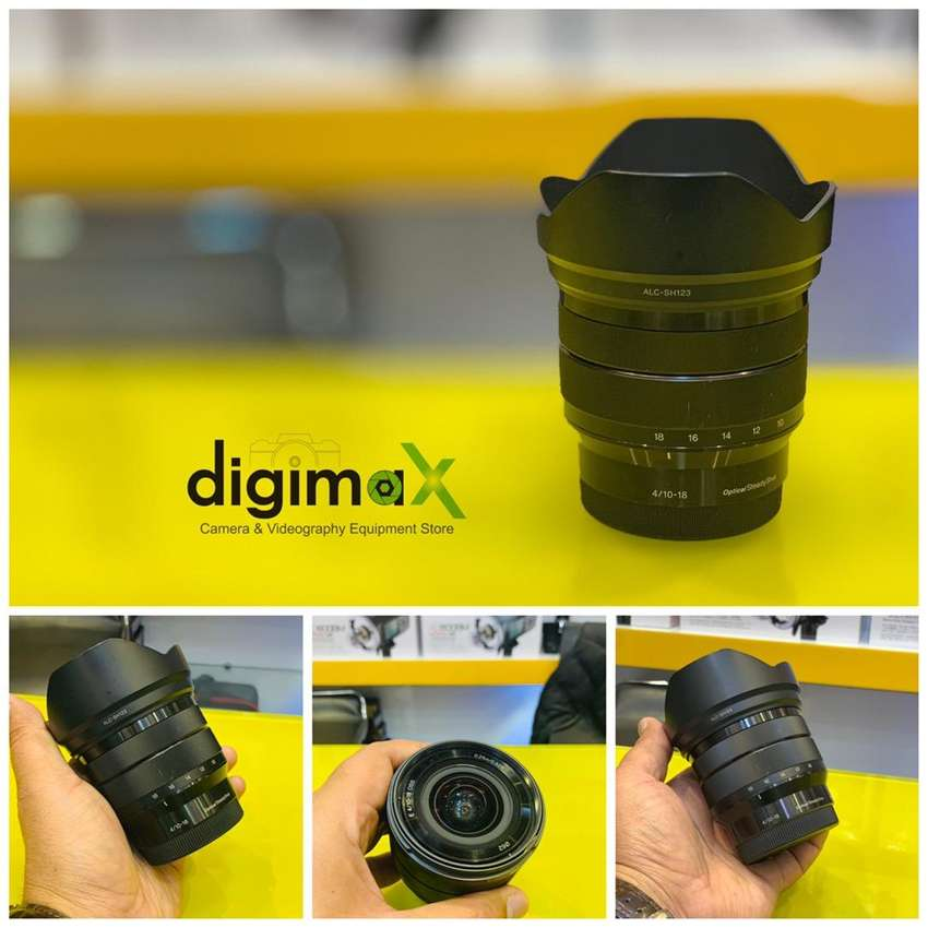 Sony 10-18 F4 slightly used available 0