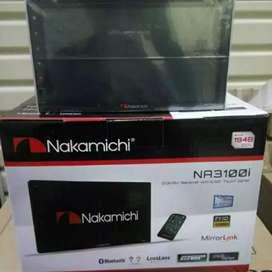 Distributor DOUBLE DIN NAKAMICHI 3101i+pasang ke rumah/bisa malam hari