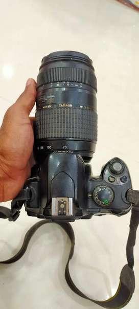 Nikon d40 with 18*55 75*300 mm double lence