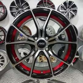 Tersedia velg import AMW 103 R16X6,5 H4X100 on Vios Calya Aveo