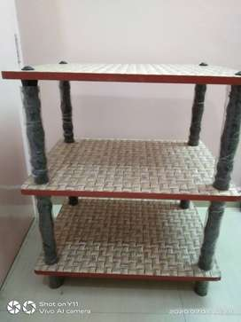 Table (Qty- 2) with racks