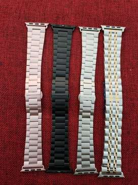 Apple watch 42mm 44mm stainless steel juble chain straps