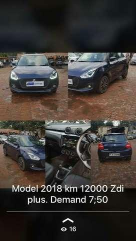 Maruti Suzuki Swift ZDi, 2018, Diesel