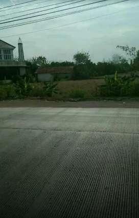 Tanah untuk kantor/ gudang pinggir jalan arteri