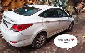 Hyundai Verna 2013 Diesel 78000 Km Driven