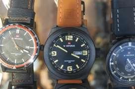 Jam tangan naviforce original sedia banyak jenis water resistance