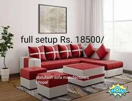 Newly made L shaped sofa set  direct from factory at factory price