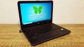 HP 240-G5 Laptop Desain Grafis Core I3-6006U 2.00GHz PES 17 Lancar