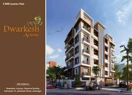 Dwarkesh avenue ready possession 3bhk flats