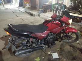 Very well maintained bike with no technical issue.