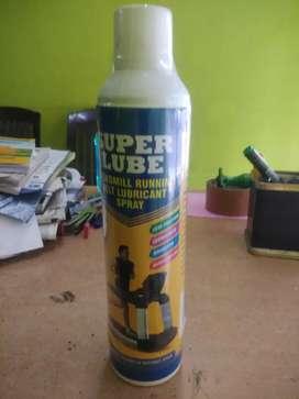 Super lube treadmill running belt lubricants