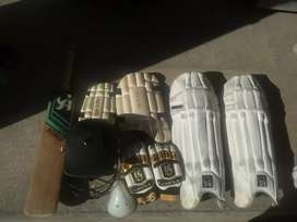 Complete Cricket for sale with Bat