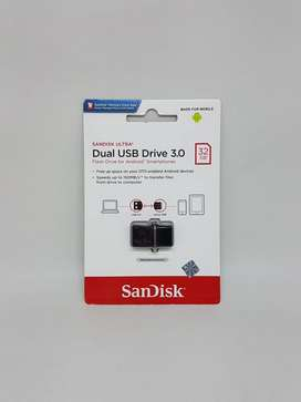 BARU Dual Drive m3.0 Sandisk (OTG + Flashdisk) 32GB