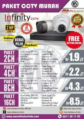 PASANG CCTV diskon!!! HARGA MURAH HANYA HARI INI