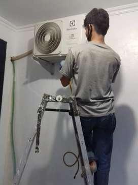 Jasa servise ac/isi freon/pasang ac/pompa air/kulkas/msin cuci 24 jam