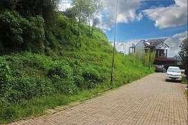 Kavling Tanah Komplek kp. padi Cisitu Dago dekat ITB kontur naik.