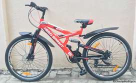 Hero sprint next Pro . Double deck gear bicycle