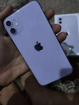 Iphone 11 128GB IBOX PURPLE GARANSI ON