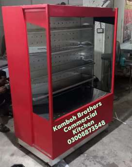 Vegetable Chiller, 4x3x6 pure steel. Delfast compressor3month warranty