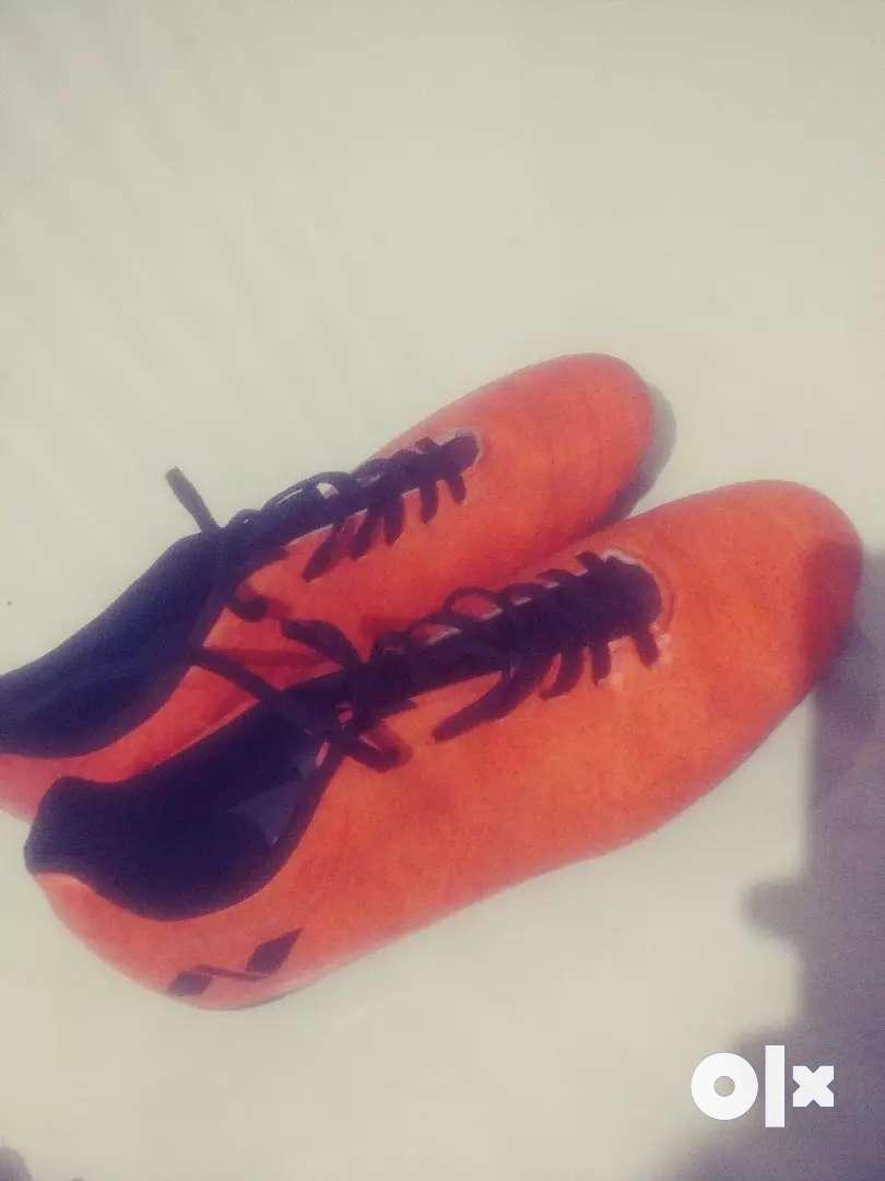 Nivia football shoe size-9 0