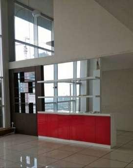Sewa Office Cityloft Sudirman 2 Unit Jadi 1, Lantai Sedang Siap Pakai