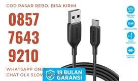 ANKER Powerline III USB-C 10ft /3 meter Fast Charging Kabel Charger