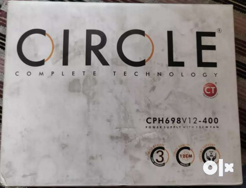 Circle power supply with 12 centimetre fan 0