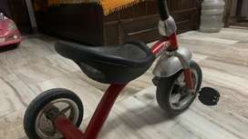 Tricycle.six month old rarely used.