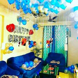 Balloon decoration all function all sarvice