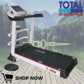 Alat Olahraga Treadmill Elektrik TL 123 M total Fitness