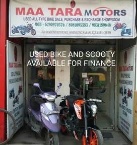 New condition sports and cruise model bike and Scooty available here