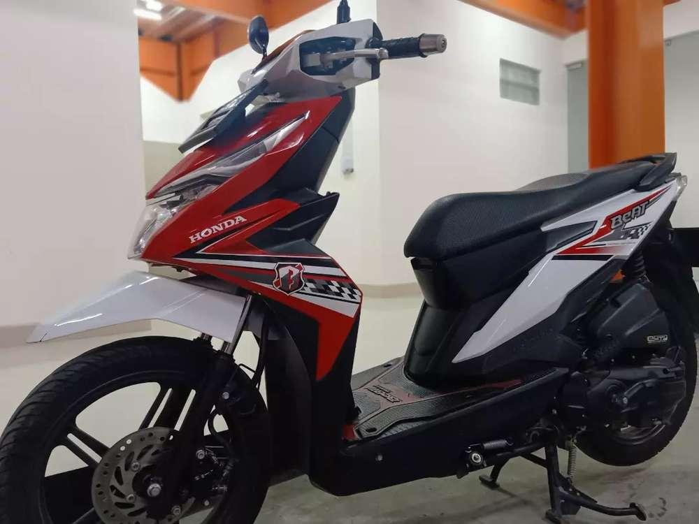 Dijual Honda beat thn 2018  Surat lengkap  BPKB STNK faktur ada