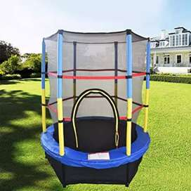 Trampoline 4.5ft With Sefty Net 55inch