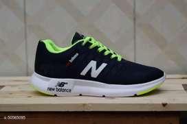 Sepatu NB Running - Navy Hijau-Navy Blue BAYAR DI TEMPAT