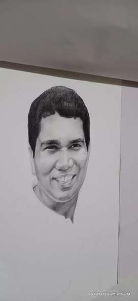 Pencil portraits and caricatures