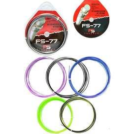 Senar Raket Badminton Frasser 77 Senar Warna Pelangi