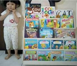 Lemari Buku Anak Minimalis