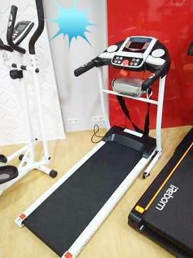 Alat olahraga treadmil elektrik 2fungsi