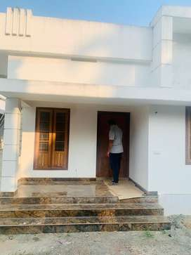 2 BHK 850sqft 3.500cent new build house for sale at Chendamangalam
